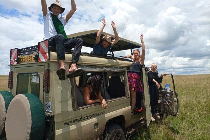 Safari Tour; Parc national de Nairobi