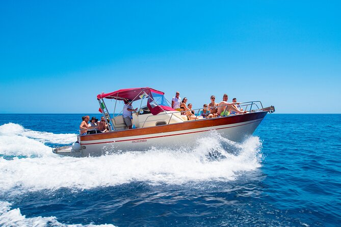 Boat Excursion Capri Island : Small group from Naples