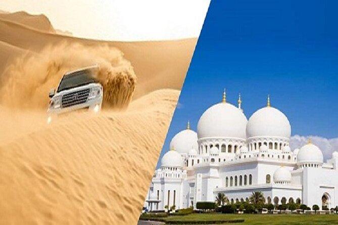 All-Inclusive 4x4 Desert Safari, Dubai City Tour and Abu Dhabi City Tour
