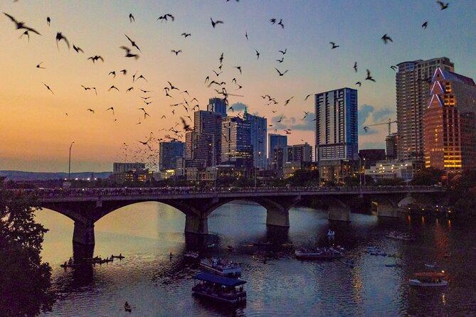 The Sunset E-Bike Adventure & Austin Bat Watching Experience