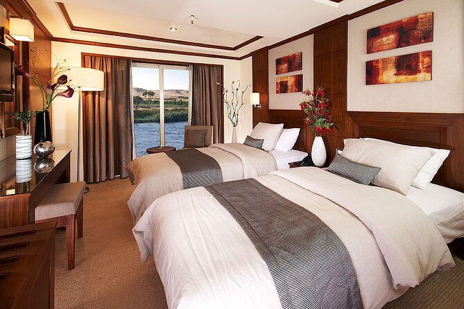 4 nights Luxor and Aswan Nile Cruise including Abu Simbel,Air Balloon From Luxor