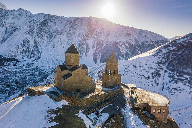 Mtskheta-Jvari + Kazbegi Private tour