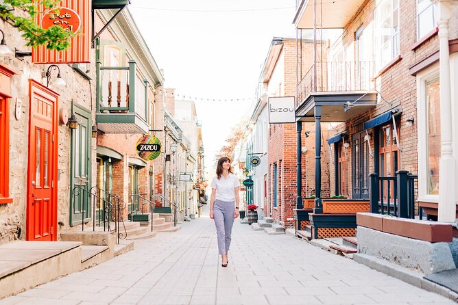 Private Vacation Photography Session with Local Photographer in Quebec City