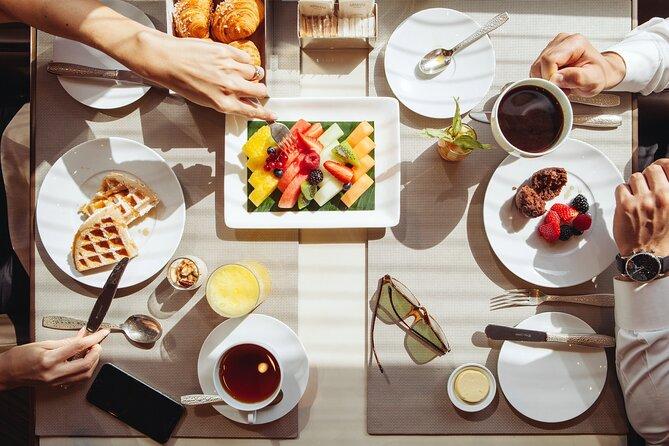 Buffet Breakfast Dining in Armani Hotel