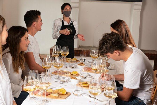 Wine tasting in San Gimignano