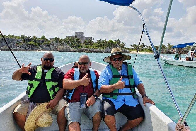 5x1 Tulum Ruins, boat ride, snorkel & beach club