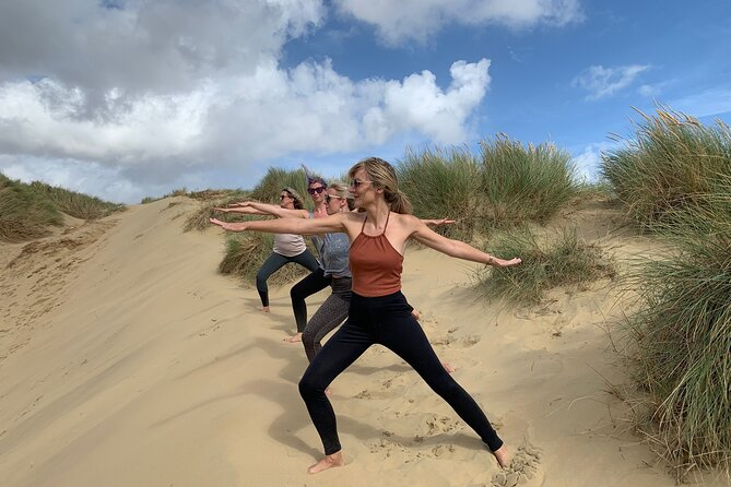 2-hour Beach Yoga Experience in Camber