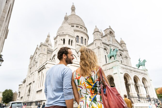Montmartre Bohemian Audio Guided Tour with Sacre Coeur Basilica