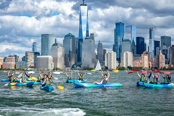 NYC 1-Hour Skyline & Sunset Kayaking Adventure