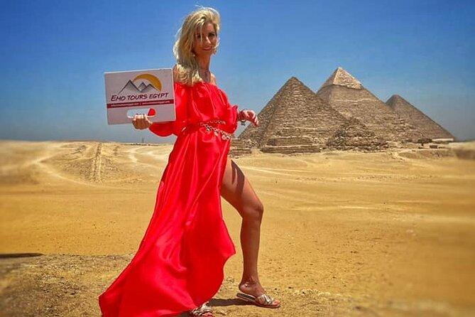 8 hours Cairo day Tour to Giza Pyramids, Memphis City, Sakkara and Dahshur