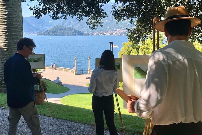 Private 90-Minute Painting experience in Bellagio