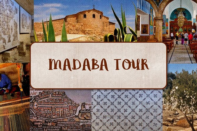 Private Walking Tour in Madaba with local
