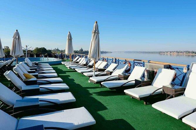 4-Days Nile Cruise Aswan,Luxor,Abu Simbel&Sleeper Train rounded trip from Cairo