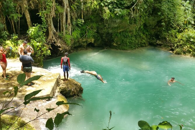 Blue Hole/Secert falls and Dunns River Combo Tour