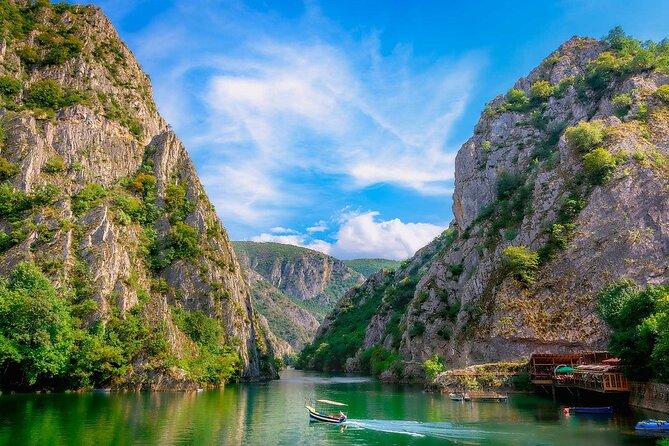 Day Tour Exploring Skopje: Millennium Cross and Matka Canyon