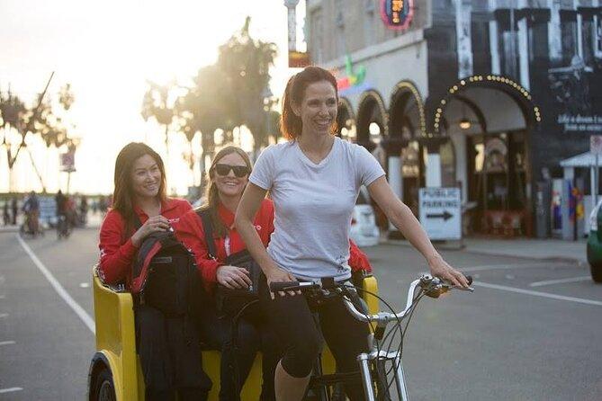 Private Rickshaw Tour of Santa Monica and Venice Beach