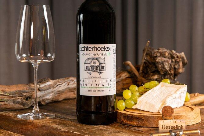 Wine & Cheese tasting with award-winning Dutch wines