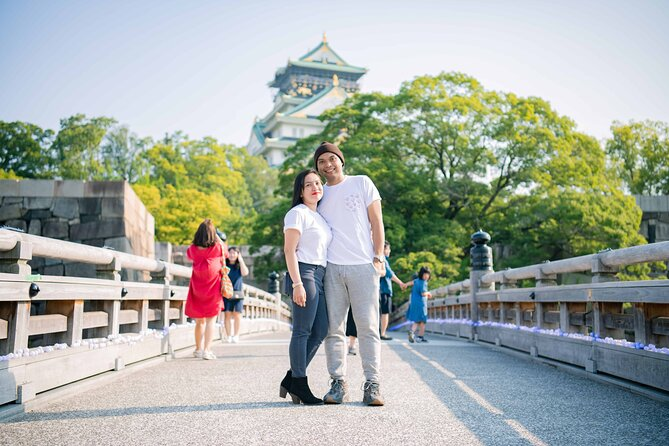 Osaka Private Photoshoot Experience with a Professional Photographer