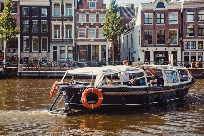 Amsterdam 1-Hour Canal Cruise