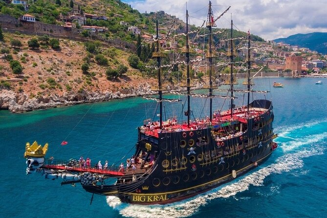 Big King (Kral) Pirate Deluxe Boat Trip from Marmaris