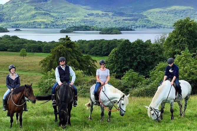 Killarney National Park Horseback Ride. Co Kerry. Guided. 3 hours.