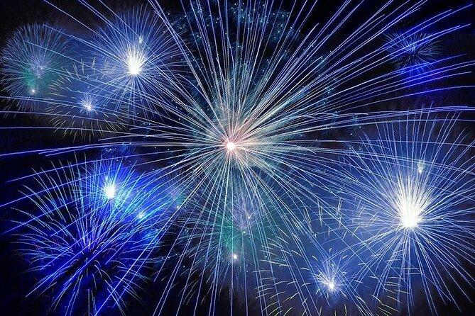 4. Juli New York City Fireworks Cruise mit Buffet und Live-DJ