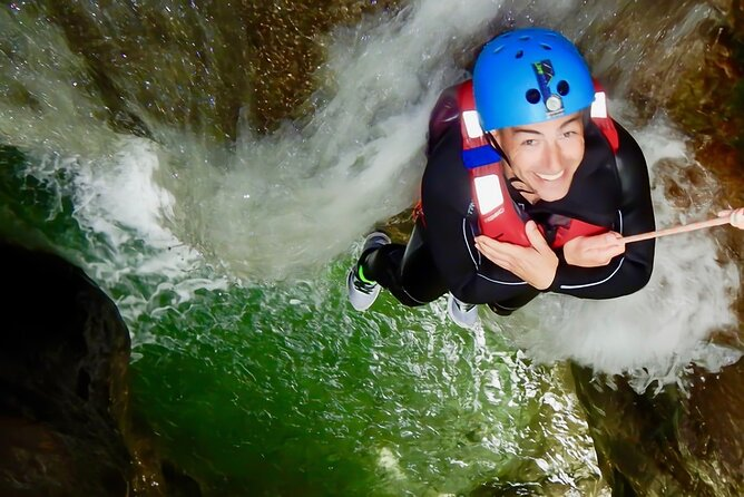 Canyoning in Rionero with Mountain Guide and Canyoning Guide