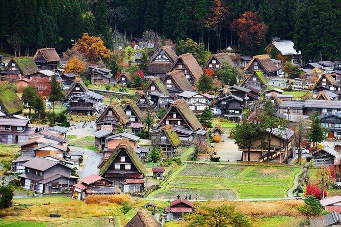 Private Full-Day Tour to Takayama and Shirakawa from Nagoya