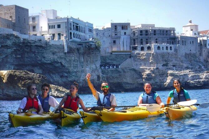 POLIGNANO A MARE kayak tour - Puglia & Salento by kayak!