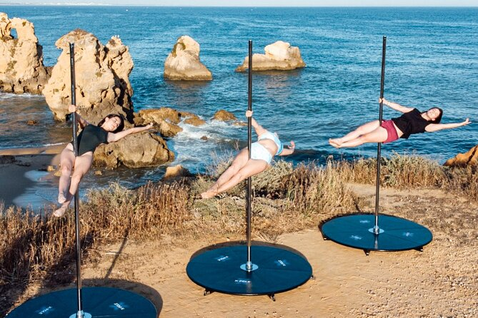 Summer Pole Session in Albufeira, Portugal