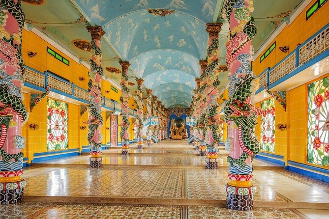 Cao Dai Temple (Toa Thanh Tay Ninh)