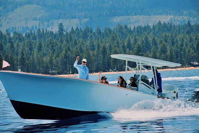 2-Hour Private Lake Tahoe Shoreline Cruise