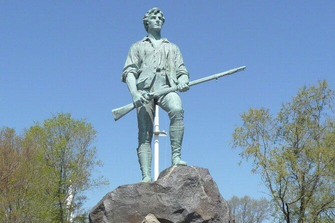 Full-Day Minivan Tour of Revolutionary Boston, Lexington and Concord