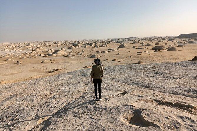 Overnight camping White Desert (Baharaya Oasis) & Cairo Private Transfers