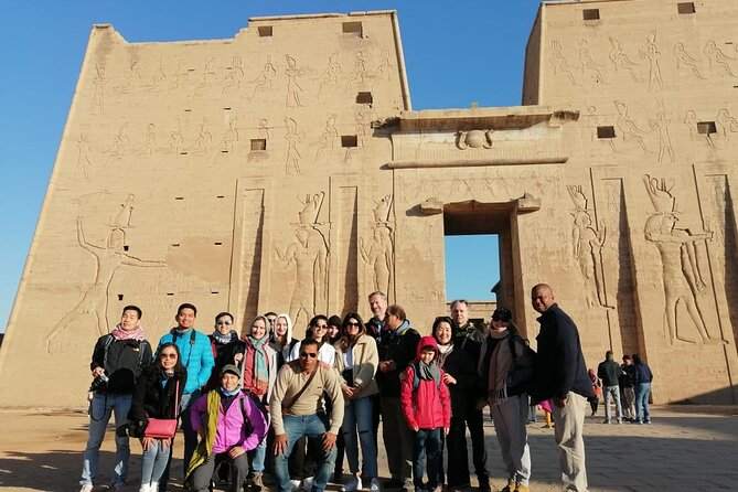 Aswan: Guided Tour to High Dam, The Obelisk & Philae Temple by Motorboat