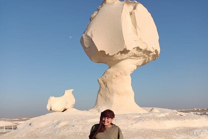 Cairo: 2-Day Bahariya Oasis Tour & White and Black Deserts camping