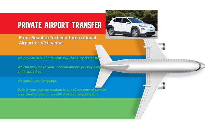 (Private Transfer) From your Airbnb in Seoul to Incheon International Airport