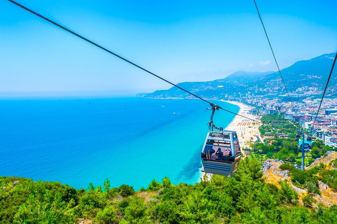 Full-Day Alanya Tour with Cable Car and Boat Trip