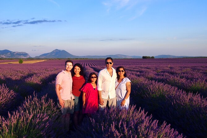 Sunset Lavender Tour in Valensole with pickup from Marseille