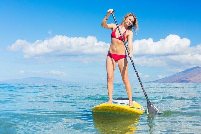 60 mins Paddle Boarding in Dubai Marina