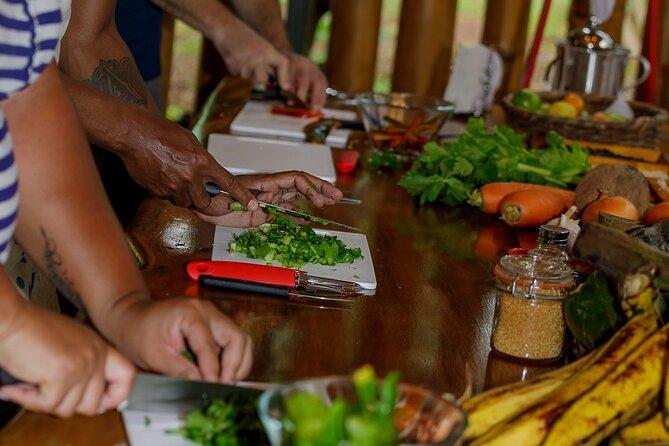 Cooking Class in Manuel Antonio with Medicinal Plants Garden Visit