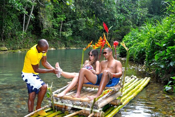 Bamboo Rafting With foot Massage