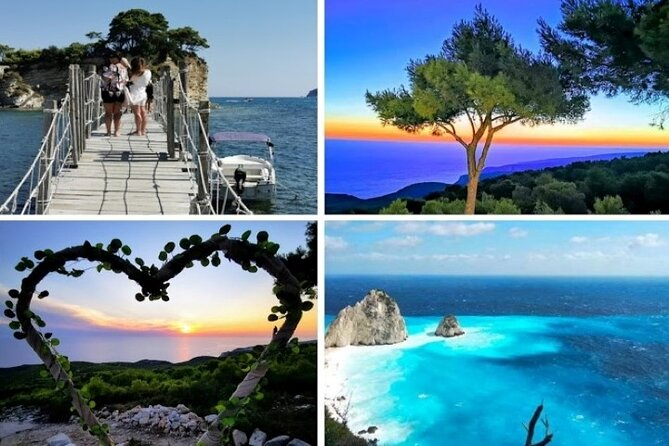 Small Group Private Romantic Sunset Tour in Zakynthos with Pick Up