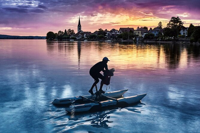 Waterbike tour on Lake Constance in a small group