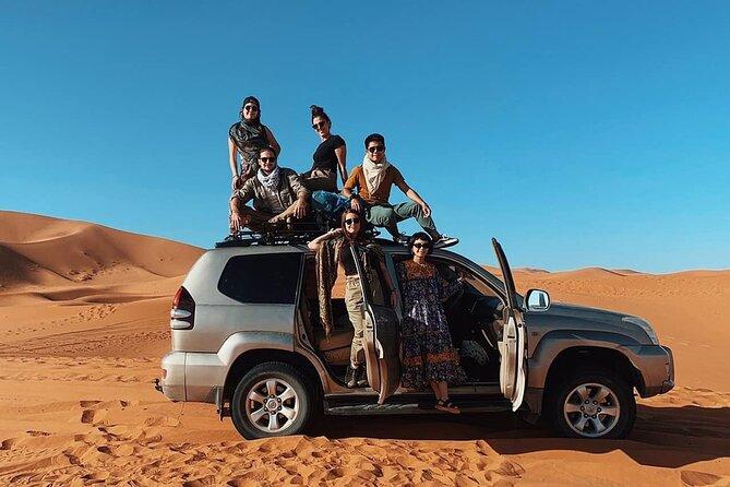 Marrakech To Merzouga 3-Days Morocco Desert Tour
