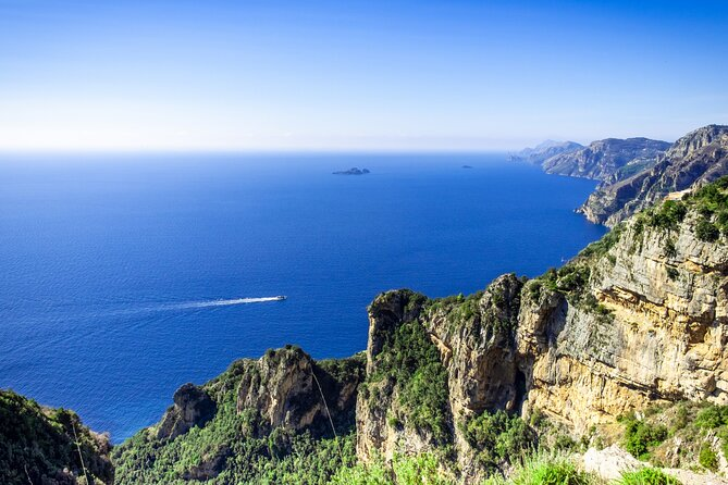 Semi Private Pompeii, Positano & Amalfi Coast Tour from Rome