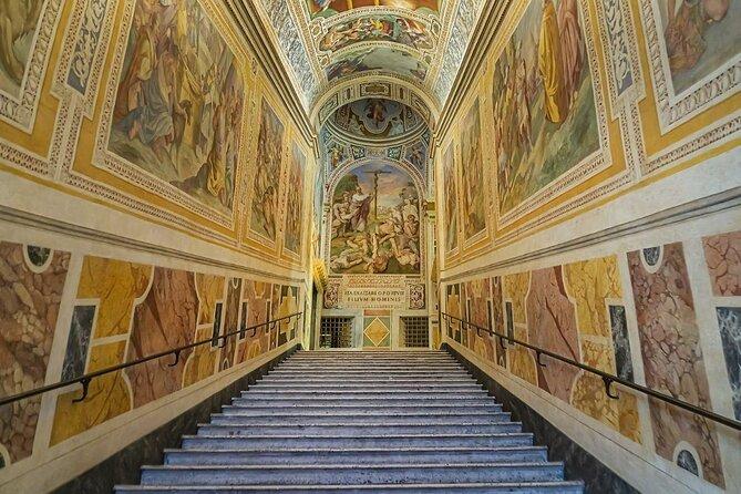 Holy Stairs (Scala Sancta) and Chapel of San Lorenzo