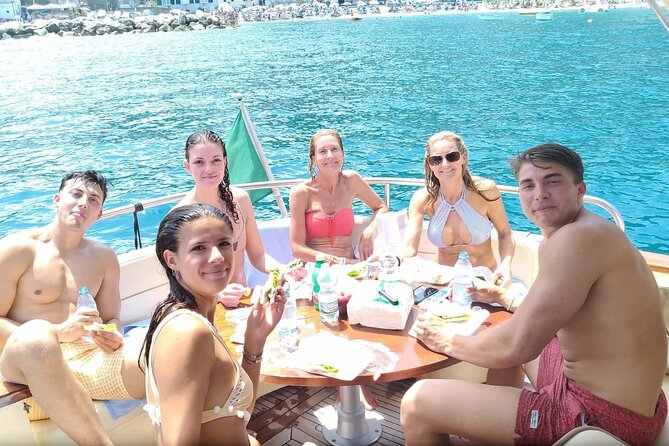 Day Tour From Sorrento to Blue Grotto, Capri with Swim and Lunch
