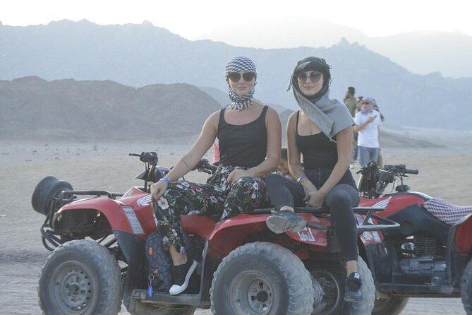Sinai Desert Adventure Quad Bikes/ATV & Dune Buggy MORNING OR AFTERNOON