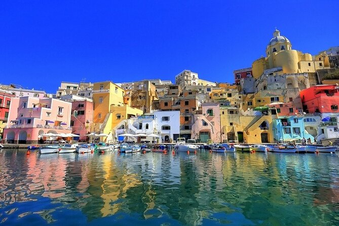 From Sorrento: Private Procida Island Boat Tour